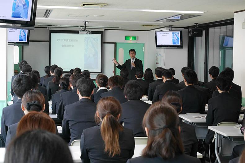 東京ディズニーリゾート®・オフィシャルホテル「東京ベイ舞浜ホテル クラブリゾート」学内企業説明&選考会を開催しました