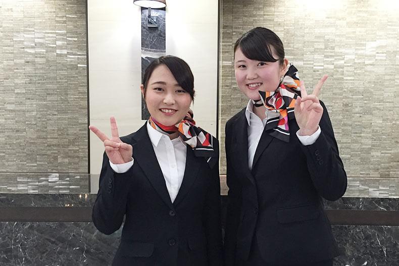 世界有数のホテルグループ「ANAインターコンチネンタルホテル東京」 に2名内定!