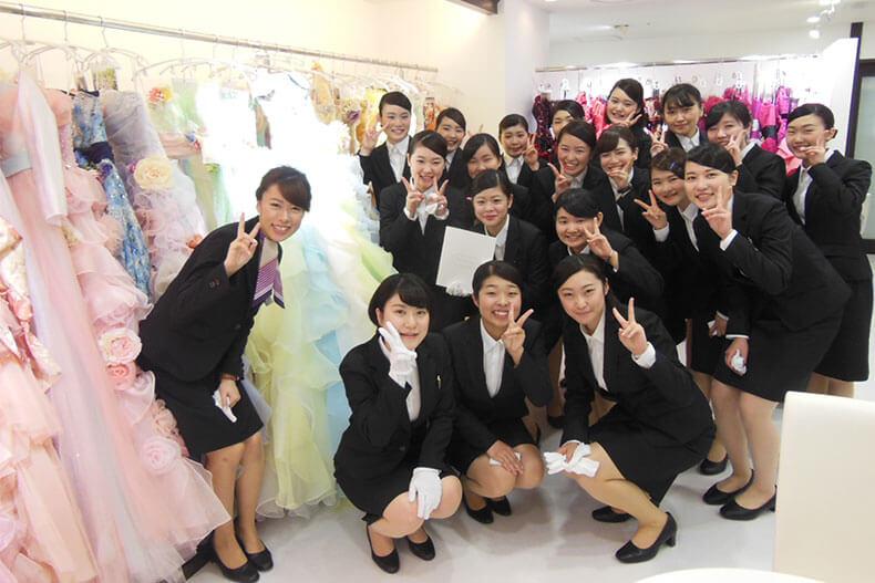プランナー、衣装コーディネーターとして卒業生が活躍中!「京王プラザホテル札幌」を見学