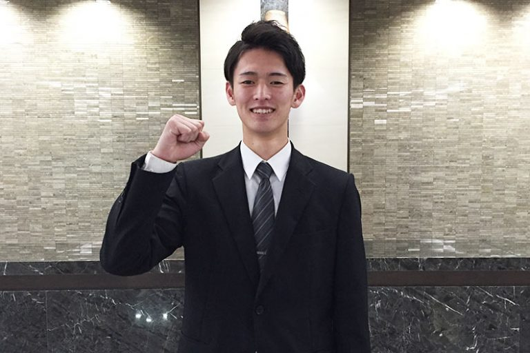 ホテル学科より内定情報!「JRタワーホテル日航札幌」に内定!