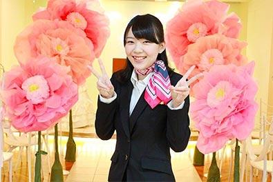 ウェディングプランナー誕生!ホテル札幌ガーデンパレスに内定!