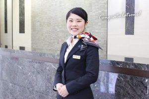 札幌を代表するホテル『ホテルオークラ札幌』学内企業説明会を開催