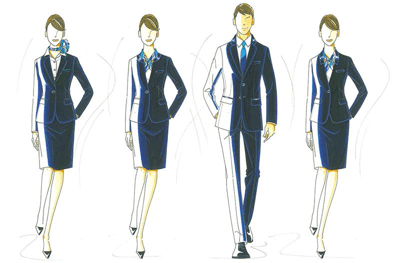 制服がリニューアル!有名デザイナーとコラボしたカッコイイ制服が誕生します。