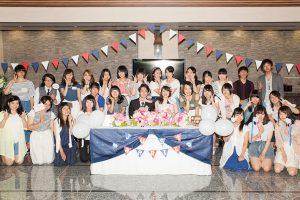 ブライダルフェアとコラボ!ロイトン札幌・模擬挙式のモデルとして学生が出演!