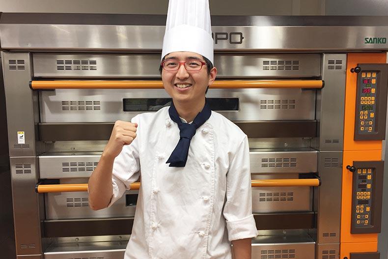 製菓学科|中国からの留学生、札幌グランドホテルに内定!