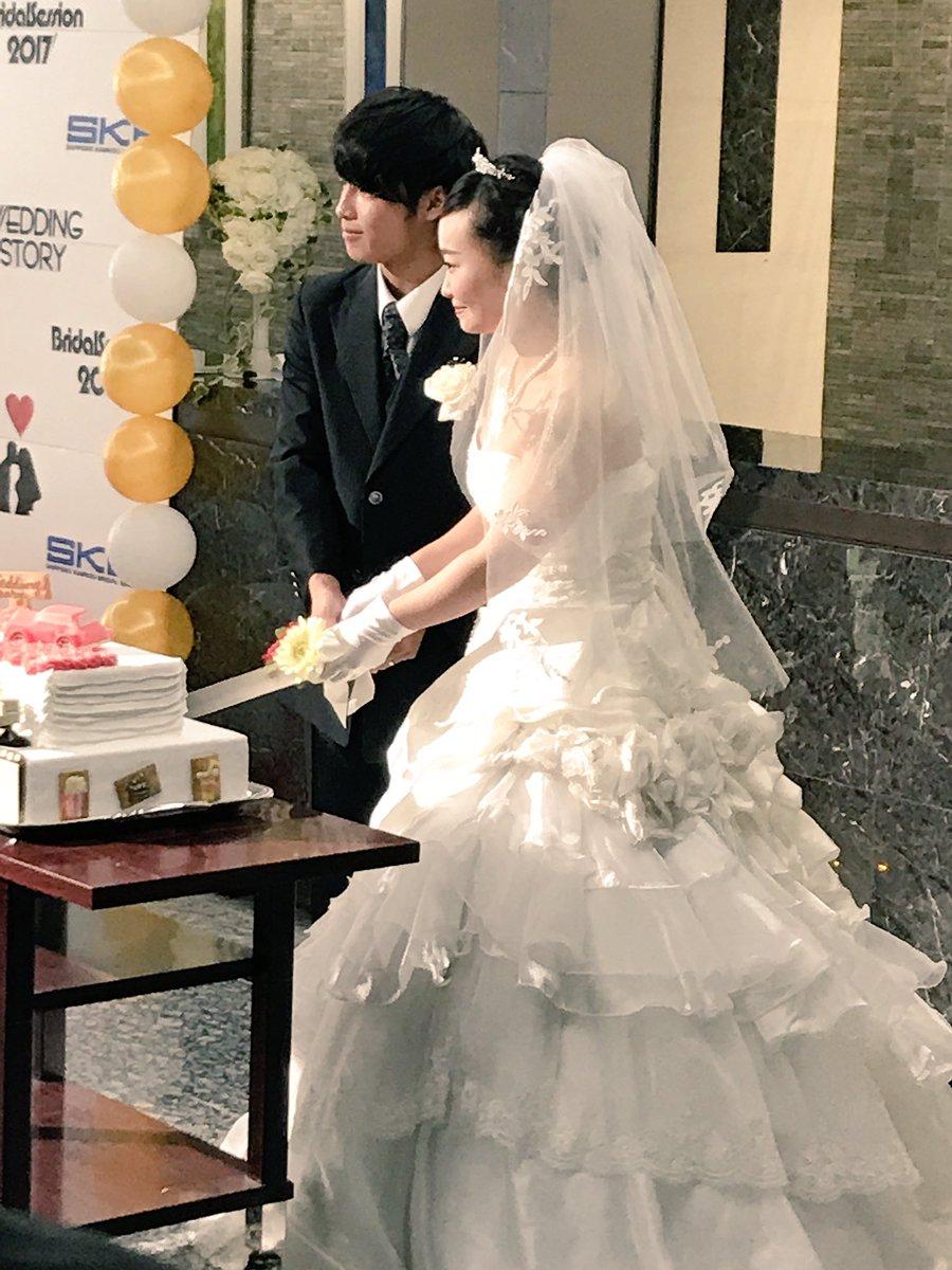 ブライダル学科・学生オリジナル結婚式『ブライダルセッション2017』