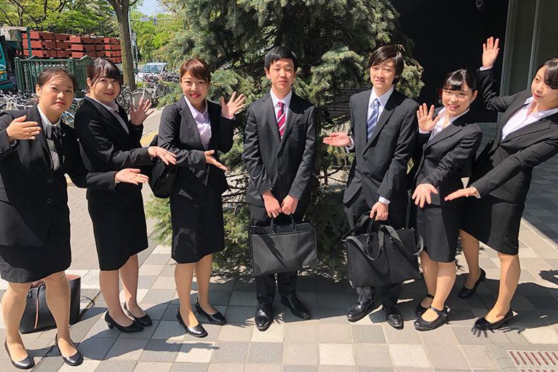 ホテル学科1年生 新授業プログラム『札幌ホテル見学ツアー』を開催しました