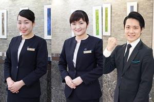 札幌を代表するホテル『ホテルオークラ札幌』に3名内定