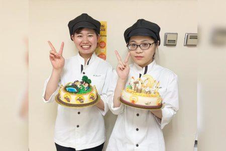 【祝】北海道洋菓子コンテストで製菓学科2・1年生&卒業生が受賞!