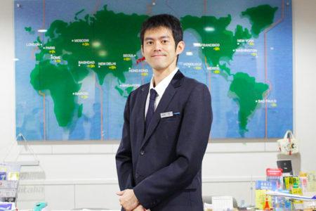 台湾からの留学生が訪日旅行(インバウンド)のツアーガイドに内定