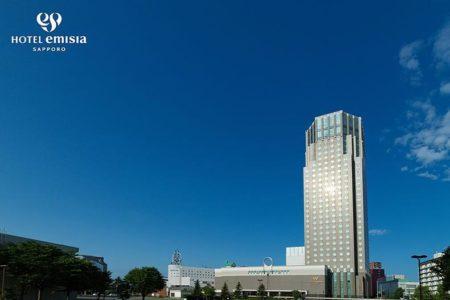 地上32階のランドマークタワーホテル『ホテルエミシア札幌』に内定