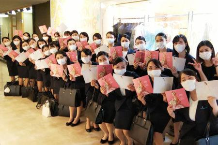 ブライダル学科 校外研修 ウェディングドレスショップ『THE HANY 札幌』へ