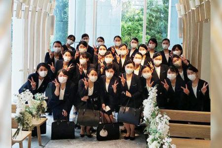 ブライダル学科 校外研修 結婚式場『チャペル・ド・コフレ札幌』へ