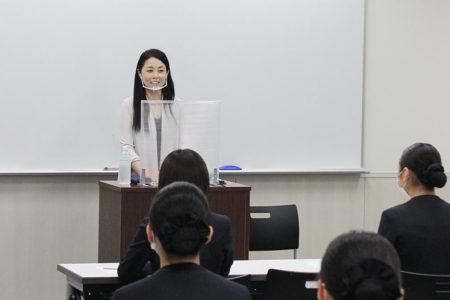 元ミスさっぽろでキャリアアドバイザー青山夕香氏のセミナーを開催しました。