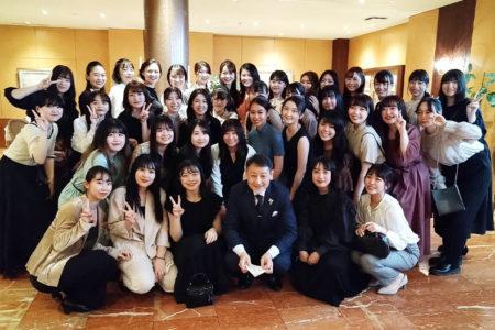 ミシュランガイド北海道で一つ星を獲得したフレンチレストラン『コートドール』でテーブルマナー研修