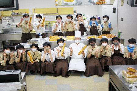 帯広をはじめ東京にもお店を展開する老舗パン屋『満寿屋商店』の天方慎治シェフによる製パン特別授業を開催